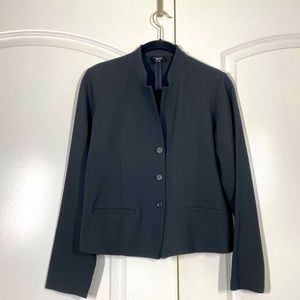 Eileen Fisher Stand Colar 3 Button Jacket size PS